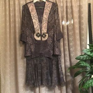Spencer Alexis Violet kay 3 piece Outfit size M